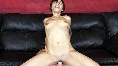 Mz Glo Sits on a Cock and Rides It Deep